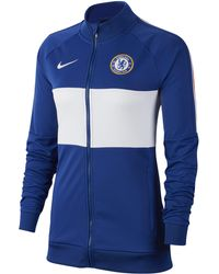3d4d12c82 Nike 2018-2019 Chelsea Authentic Down Jacket Women's Jacket In Blue ...