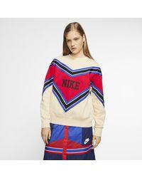 Nike Sportswear Nsw Fleece Crew - Blue