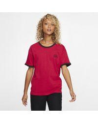 Nike T-shirt Hurley x Carhartt Ringer - Rosso