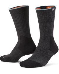 Nike Calze da basket KD Elite di media lunghezza - Grigio