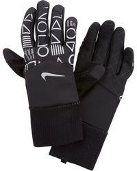 Nike Gants de running Shield JDI Flash pour - Noir
