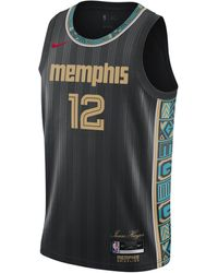 Nike Maglia Memphis Grizzlies City Edition Swingman NBA - Nero
