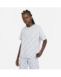 Nike T-shirt stampata Sportswear - Grigio