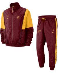Nike Tuta Cleveland Cavaliers NBA - Rosso