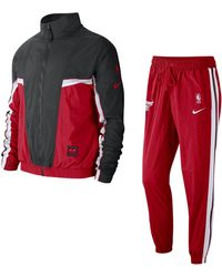 Nike Chicago Bulls NBA-Trainingsanzug für - Rot