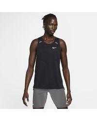 Nike Dri-FIT Rise 365 Lauf-Tanktop - Schwarz