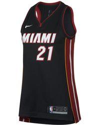Nike - Hassan Whiteside Icon Edition Swingman Jersey (miami Heat) Women's Nba Connected Jersey - Lyst