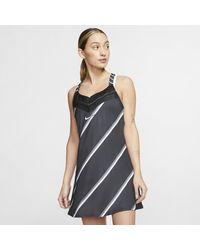 Nike Court Tennis Dress - Black
