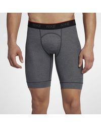 Nike Long Boxer Briefs (2 Pairs) - Gray