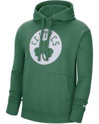 Nike Felpa pullover con cappuccio Boston Celtics Essential NBA - Verde