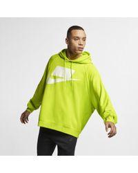 Nike - Felpa con cappuccio in French Terry Sportswear NSW - Lyst