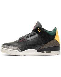 Nike Air Jordan 3 Retro Se Schoen - Zwart