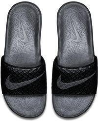 Nike Claquette Benassi Solarsoft 2 pour - Noir