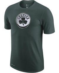 Nike Boston Celtics Earned Edition Camiseta Logo Dri-FIT de la NBA Verde