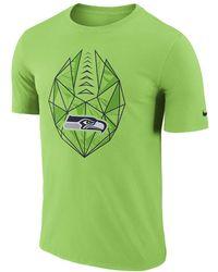 47c30fda Lyst - Nike Dri-fit Touch (nfl Seahawks) Men's Training T-shirt in ...