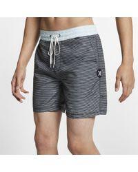 6b33e60658 Nike Hurley Phantom Sig Zane Maloulu 46cm Approx. Boardshorts in Blue for  Men - Lyst