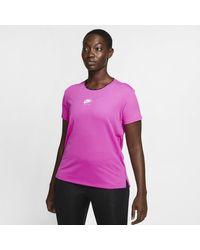 Nike Top da running a manica corta Air - Rosa