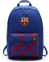Nike FC Barcelona Stadium Fußballrucksack - Blau