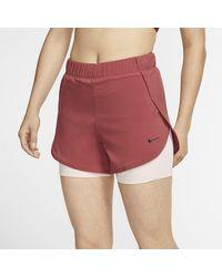 Nike Flex 2-in-1-Trainingsshorts für - Rot
