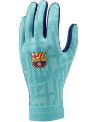 Nike FC Barcelona HyperWarm Academy Fußballhandschuhe - Grün