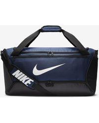 Nike Brasilia Training Duffel Bag (medium) - Blue