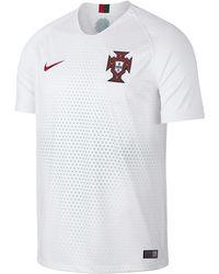 4f9d43cbb00bb 2018 Portugal Stadium Away Football Shirt - White