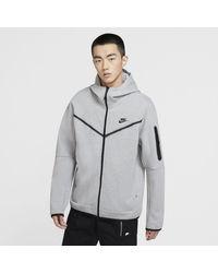 Nike - Tech Fleece Full Zip Hoodie - Lyst