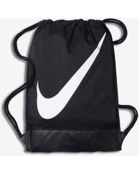 Nike Sacca per la palestra e il calcio - Nero