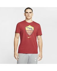 Nike A.s. Roma T-shirt Red