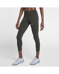 Lyst - Nike Power Epic Lux Women s Running Tights in Blue ad6fe673ba