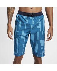 "Nike "" Vector Vital Volley 11"""" Shorts - Blue"