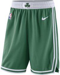 Nike - Short de NBA Boston Celtics Icon Edition Swingman pour Homme - Lyst