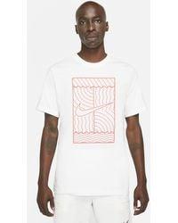 Nike - Court Tennis T-shirt White - Lyst