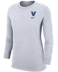 Nike College Dri-fit (villanova) Long-sleeve T-shirt - White