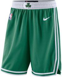 Nike Short NBA Boston Celtics Icon Edition Swingman pour - Vert