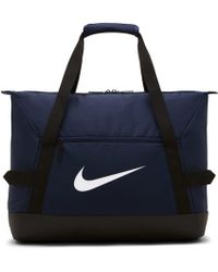 Nike Academy Team Fußball-Sporttasche (Medium) - Blau