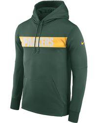 dbf5dc802cf Lyst - Nike Men s Green Bay Packers Champ Drive Hyperspeed Sphere ...