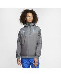 Nike Tottenham Hotspur Authentic Windrunner jacke - Grau