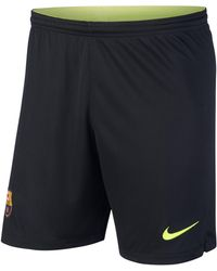 Nike - Shorts da calcio 2018/19 FC Barcelona Stadium Goalkeeper - Lyst