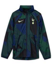 Nike Tottenham Hotspur Fußballjacke - Blau