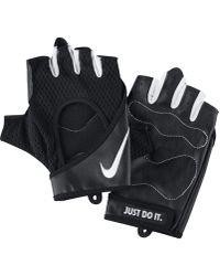 Nike Perforated Wrap -Trainingshandschuhe - Schwarz
