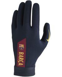 Nike Gants de football FC Barcelona Academy - Bleu