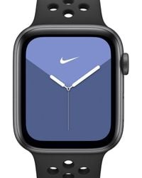 Nike Apple Watch Series 5 (gps + Cellular) With Sport Band 40mm Space Gray Aluminum Case - Black