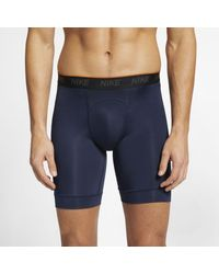 Nike Long Boxer Briefs (2 Pairs) - Blue