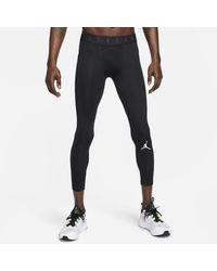 Nike Tights a 3/4 Jordan Dri-FIT Air - Nero