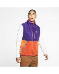 Nike Sportswear Sherpa-Fleece-Weste für - Lila