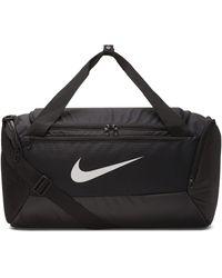 Nike Sporttasche »NK BRSLA S DUFF - 9.0« - Schwarz
