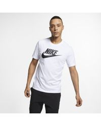 Nike SPORTSWEAR uomini's T-shirt - Bianco