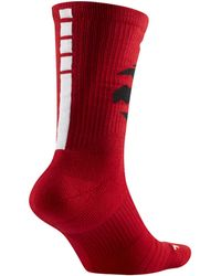 Nike - Toronto Raptors Elite Nba Crew Socks - Lyst