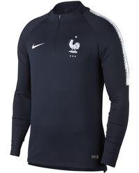 Nike - Fff Dri-fit Squad Drill Long-sleeve Football Top - Lyst